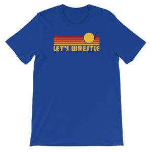 Let's Wrestle Sunrise Unisex Short Sleeve T-Shirt