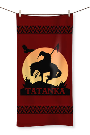 Tatanka End Of The Trail Towel