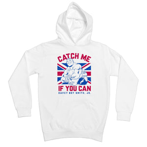 Davey Boy Smith Jr Catch Me If You Can Kids Hoodie