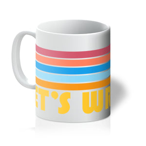 Let's Wrestle Summer Waves Mug