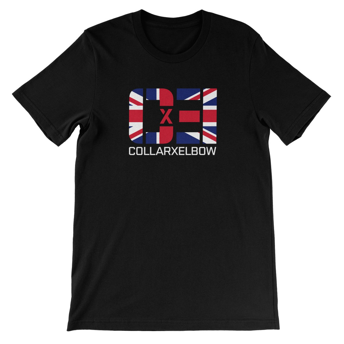 CxE UK Brand Unisex Short Sleeve T-Shirt