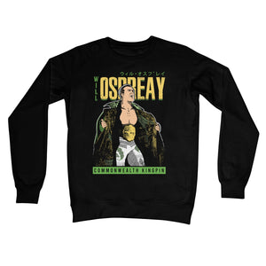Will Ospreay Commonwealth Kingpin Crew Neck Sweatshirt