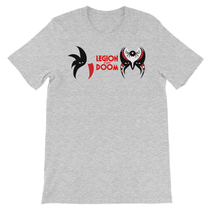 Legion Of Doom Battle Paint Unisex Short Sleeve T-Shirt
