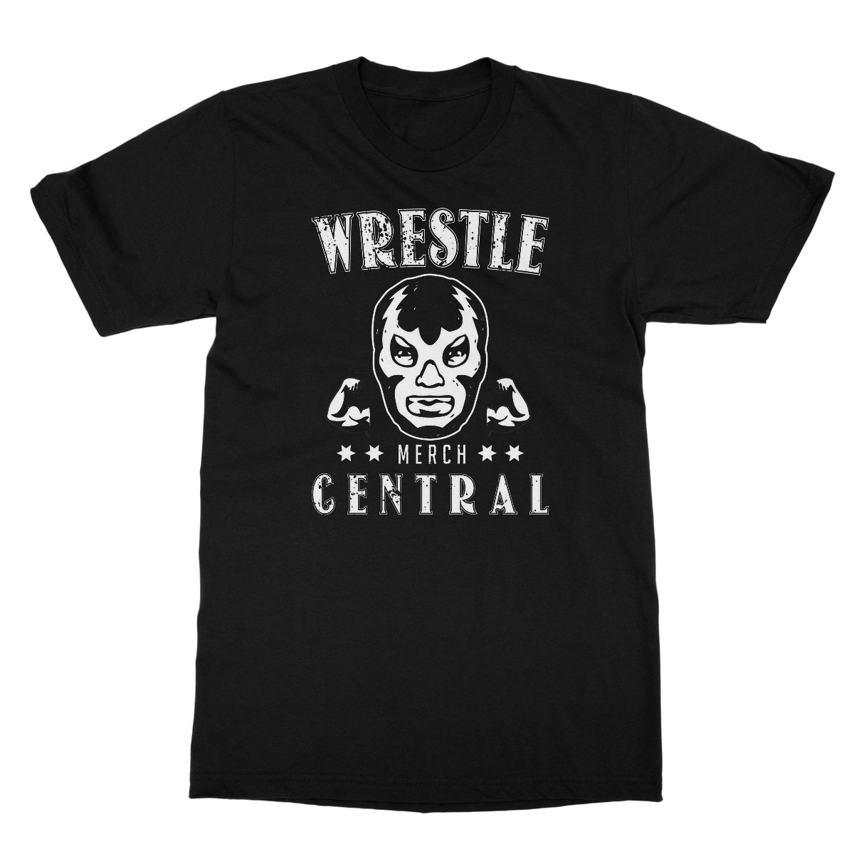 WMC Lucha Muscle Softstyle T-Shirt