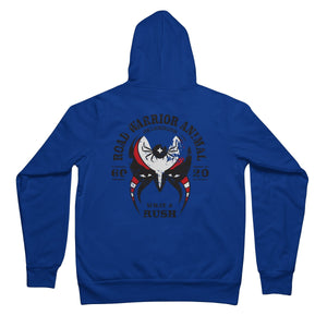 "Legion Of Doom - Joe ""Animal"" Lauranitis Tribute T-Shirt Unisex Full Zip Hoodie"