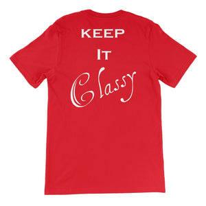 QPW - Ali Al-Majid Keep It Classy Unisex Short Sleeve T-Shirt