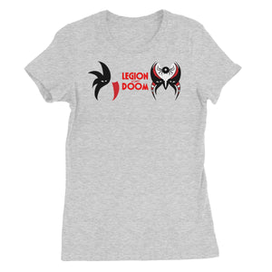 Legion Of Doom Battle Paint Women's Short Sleeve T-Shirt