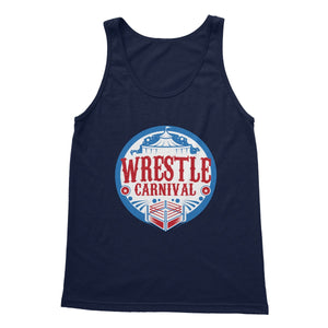 Wrestle Carnival Logo Softstyle Tank Top