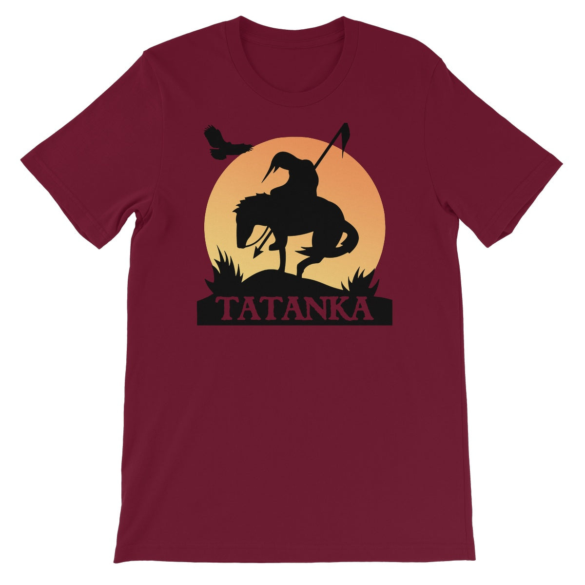 Tatanka End Of The Trail Unisex Short Sleeve T-Shirt