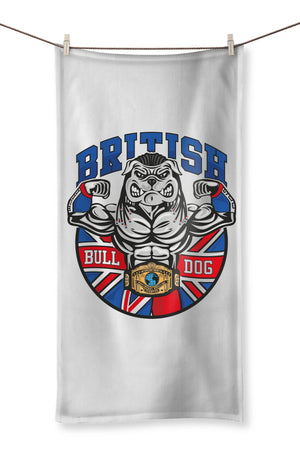 British Bulldog Matilda Towel