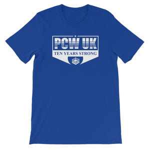 PCW UK 10th Anniversary  Unisex Short Sleeve T-Shirt