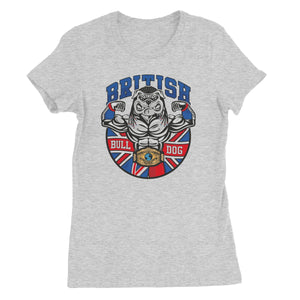 British Bulldog Matilda Women's Short Sleeve T-Shirt