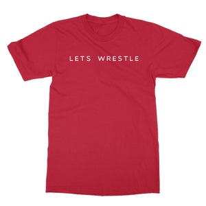 Let's Wrestle Logo Softstyle T-Shirt