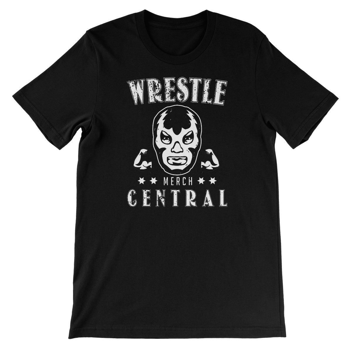 WMC Lucha Muscle Unisex Short Sleeve T-Shirt