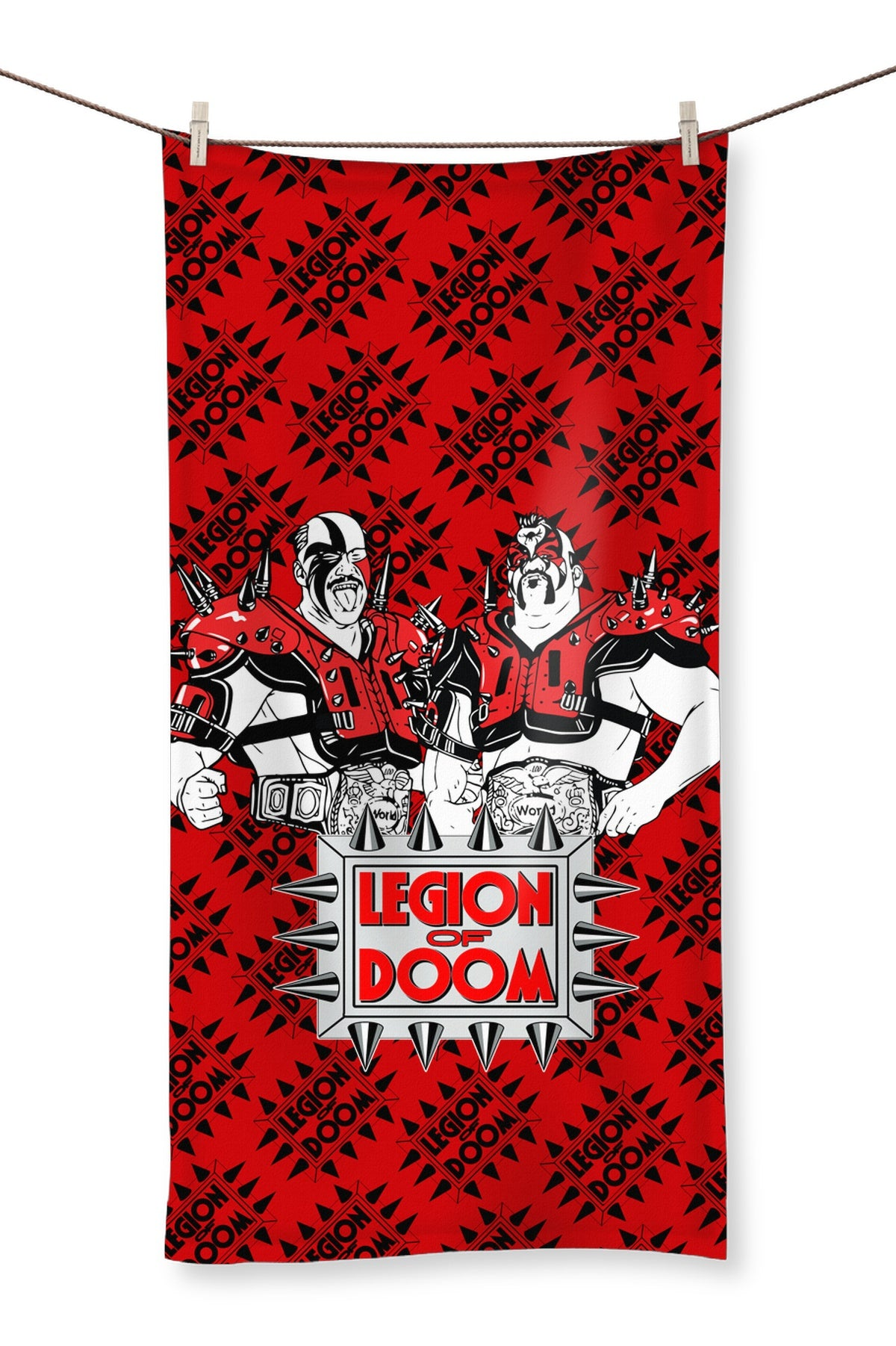 Legion Of Doom Tag Champs Towel