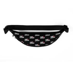 Simon Hill Keep It Locked Logo Pattern Fanny Pack