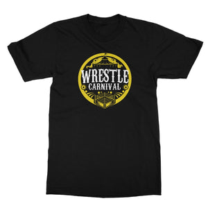 Wrestle Carnival Gold Logo Softstyle T-Shirt