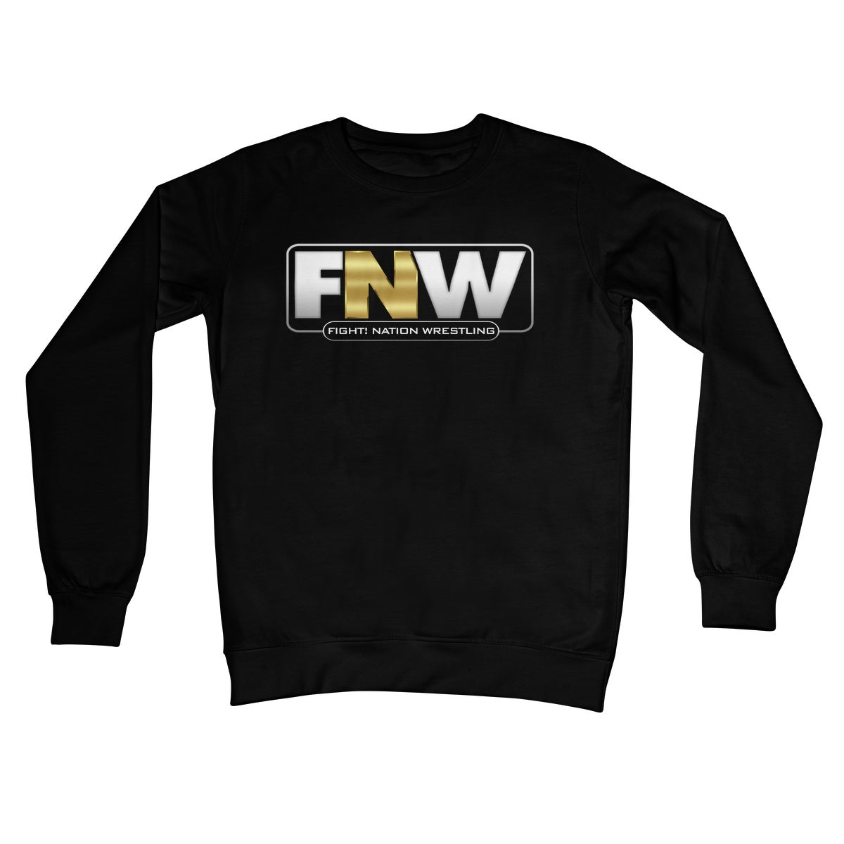 Fight! Nation Wrestling Logo Crew Neck Sweatshirt