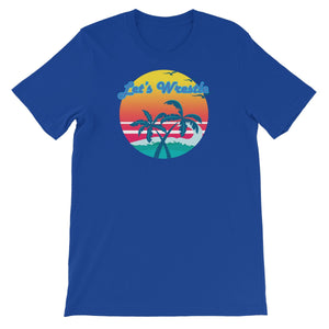 Let's Wrestle Tropical Heat Wave Unisex Short Sleeve T-Shirt