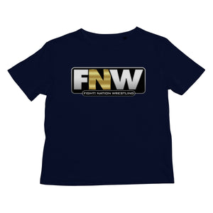 Fight! Nation Wrestling Logo Kids T-Shirt