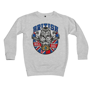 British Bulldog Matilda Kids Retail Sweatshirt
