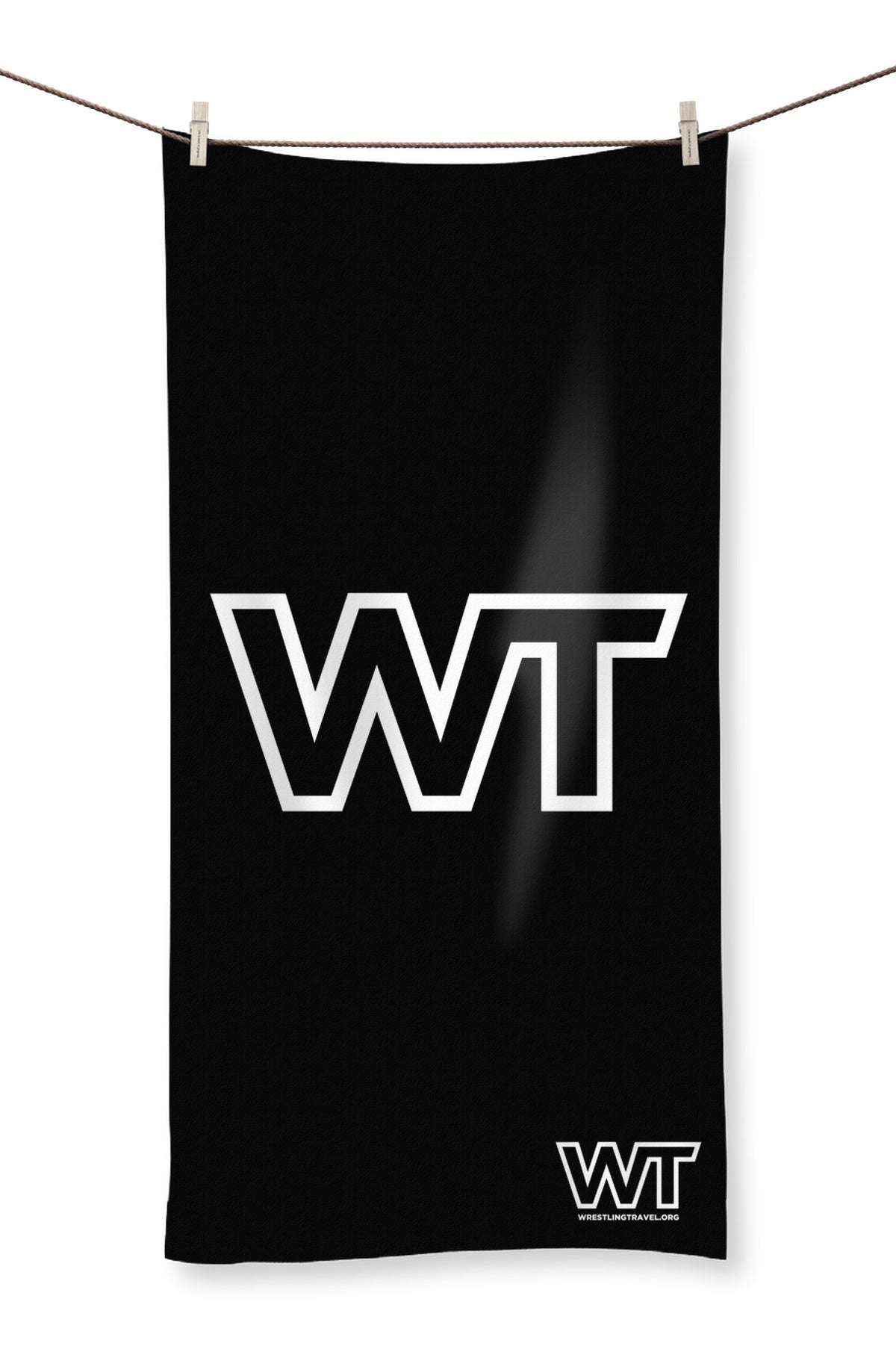 Wrestling Travel Logo Towel