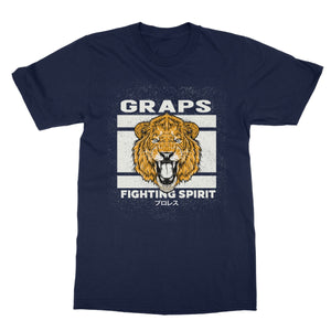 GRAPS X Gaijin - Fighting Spirit Softstyle T-Shirt