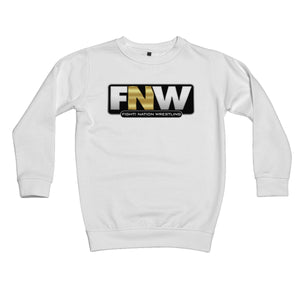Fight! Nation Wrestling Logo Kids Sweatshirt