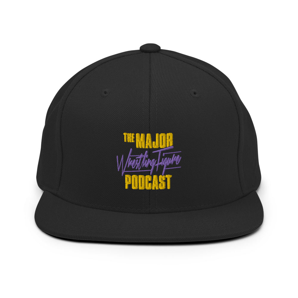 The Major Wrestling Figure Podcast Snapback Hat