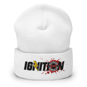 TNT Extreme Wrestling IGNITION Logo Cuffed Beanie