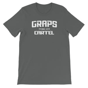 GRAPS - Cartel White Unisex Short Sleeve T-Shirt