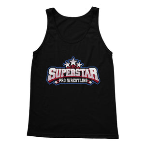 Superstar Pro Wrestling Logo Softstyle Tank Top