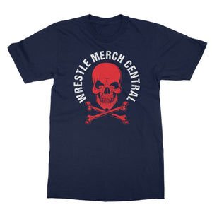 WMC Red Skull Softstyle T-Shirt