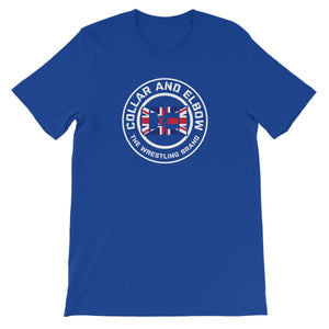 CxE Logo UK Original Unisex Short Sleeve T-Shirt