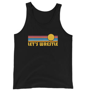 Let's Wrestle Summer Waves Unisex Jersey Tank Top