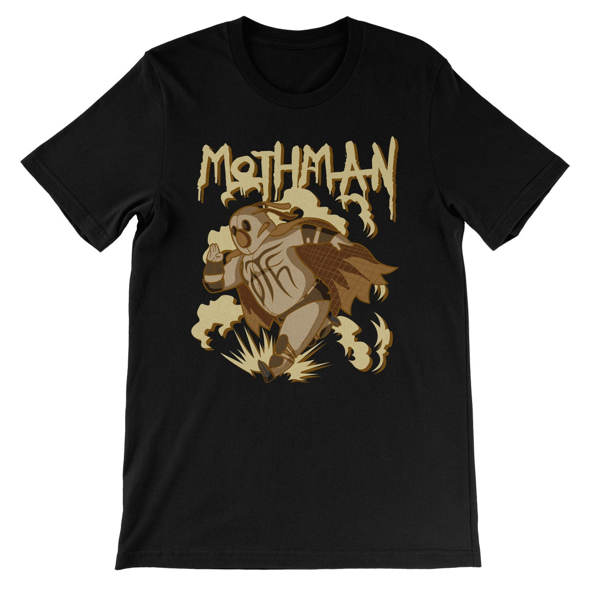 TNT Extreme Wrestling Mothman Unisex Short Sleeve T-Shirt