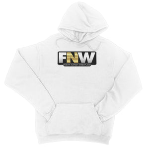 Fight! Nation Wrestling Logo College Hoodie
