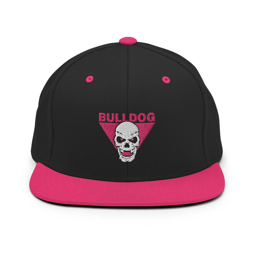 Bulldog Foundation Logo Snapback Hat