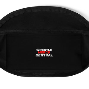 H.O.W Totally Hooked Logo Pattern Fanny Pack
