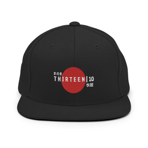 Thirteen | 10 Apparel Japan Logo Snapback Hat