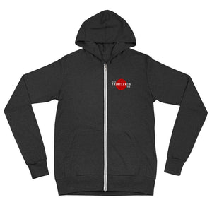 Thirteen | 10 Apparel JAPAN Logo Unisex zip hoodie
