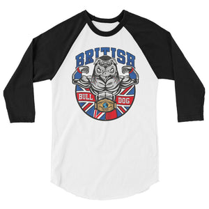 British Bulldog Matilda 3/4 sleeve raglan shirt