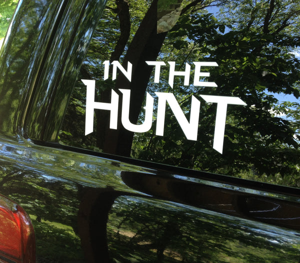 IN THE HUNT® Decal