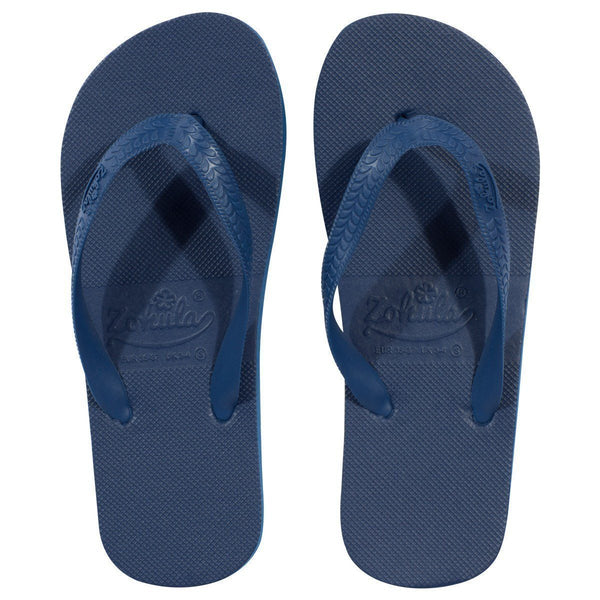 slippers Marineblauw
