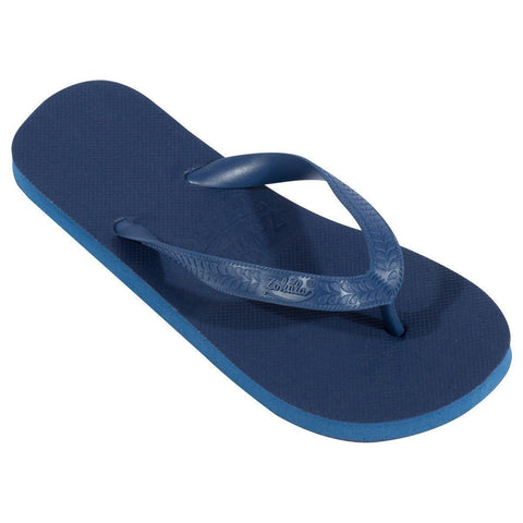 Marineblauw teenslippers