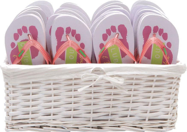 clubbed out and barefoot flip flops party pack