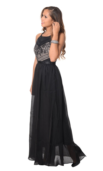 Nightingale Dress in Black