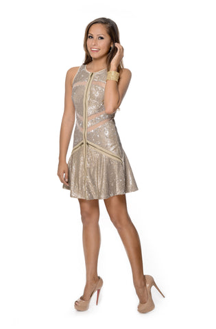 Gold Rush Dress
