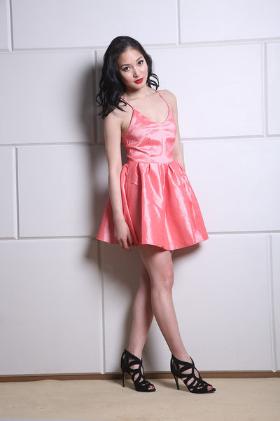 Metallic Pink Play Dress