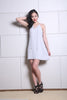 Light Grey Chiffon Play Dress